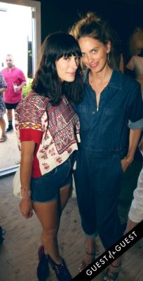 athena calderon in Cynthia Rowley co-hosts a beach-backyard party in Montauk with Pret-à-Surf and Sleepy Jones