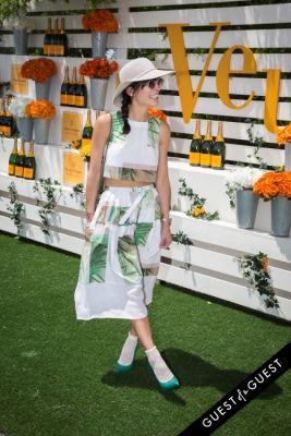 athena calderone in Veuve Clicquot Polo Classic 2014