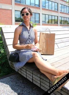 audra pratt in High Line Street Style 2015