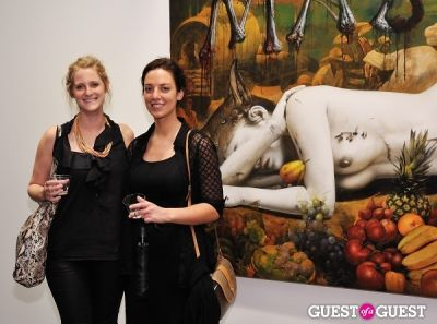 audrey lindsay in Ronald Ventura: A Thousand Islands opening at Tyler Rollins Gallery