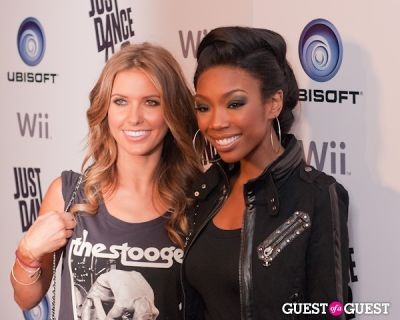 brandy in Ubisoft Just Dance 2 Launch Party