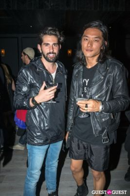 joe lee in Oliver Theyskens Theory After Party