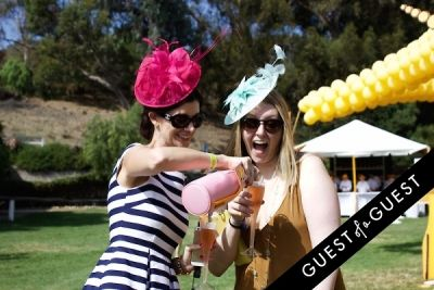 sarah christian in The Sixth Annual Veuve Clicquot Polo Classic
