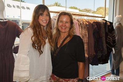 sasha rondell in Calypso St. Barth's October Malibu Boutique Celebration
