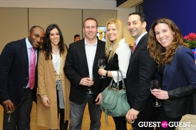 aymar yoboue in IvyConnect NYC Presents Sotheby's Gallery Reception
