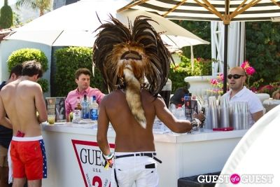 azim majid in Coachella: GUESS HOTEL Pool Party at the Viceroy, Day 2