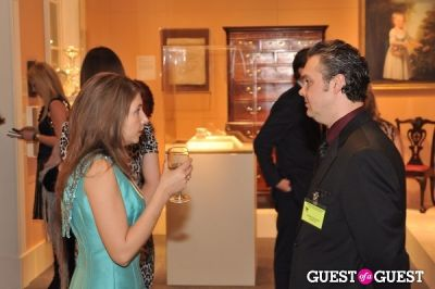 aziz ben-ammar in Winter Antiques Show Young Collectors Night
