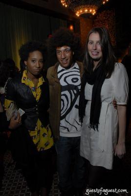 aziza dyer in ART ROCKS BENEFIT - Bowery Hotel