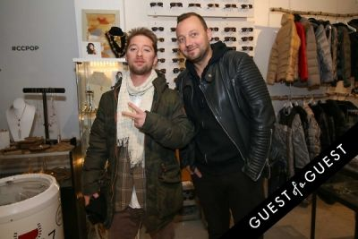 baggi begovic in Creeds Collective Pop Up