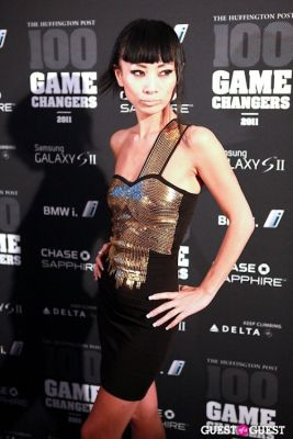 bai ling in 2011 Huffington Post and Game Changers Award Ceremony