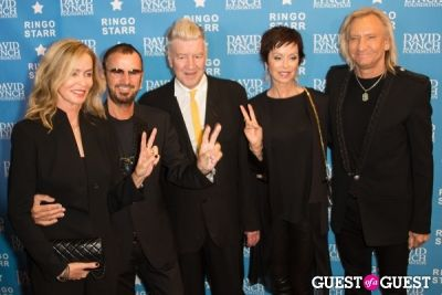 "david lynch in Ringo Starr Honored with ""Lifetime of Peace & Love Award"" by The David Lynch Foundation"