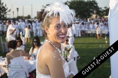 barbara burnett in Diner En Blanc NYC 2014