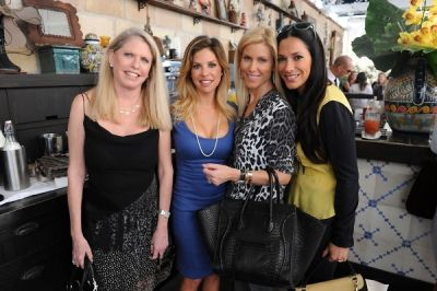 lynsdey cooper in ShopBAZAAR VIP Brunch at Soho Beach House