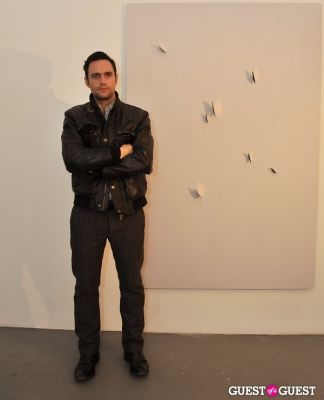 barnaby hosking in Barnaby Hosking - New Works opening at Charles Bank Gallery