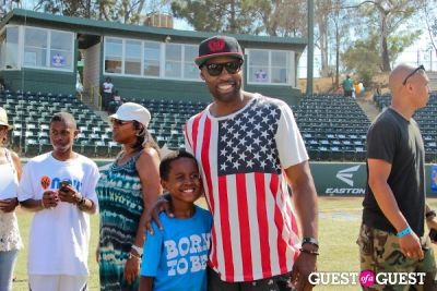 baron davis in 3rd Annual All-Star Kickball Game Benefiting Rising Stars of America