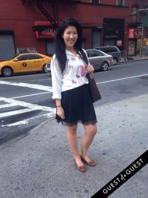 bea asavajaru in Summer 2014 NYC Street Style