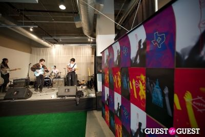 beach fossils in Swatch Austin Store Opening Celebration