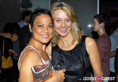 beate chelette in Aesthesia Studios Opening Party
