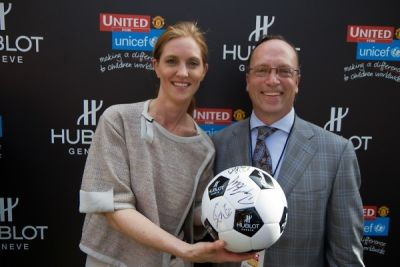mike margolis in Hublot and Manchester United Million Dollar Challenge