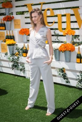 behati prinsloo in Veuve Clicquot Polo Classic 2014