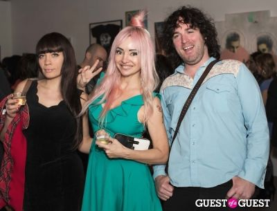 gabriel atkinson in Cat Art Show Los Angeles Opening Night Party at 101/Exhibit