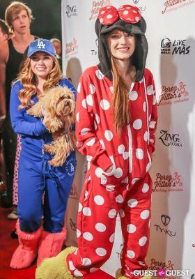 bella thorne in Perez Hilton 35th Birthday Pajama Party