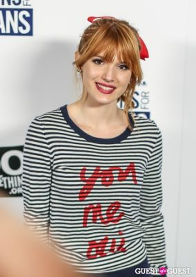 bella thorne in 6th Annual 'Teens for Jeans' Star Studded Event