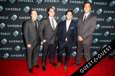 ben hayes in Sweeble Launch Event