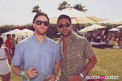branden moll in Lacoste L!ve 4th Annual Desert Pool Party (Sunday)
