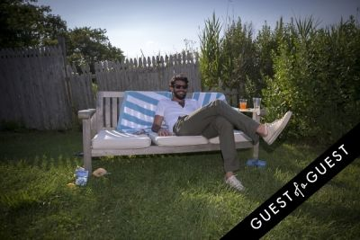 ben rees in GUEST OF A GUEST x DOLCE & GABBANA Light Blue Mediterranean Escape In Montauk