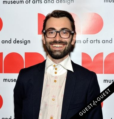 benjamin frederickson in The Museum of Arts and Design's MAD Ball 2014
