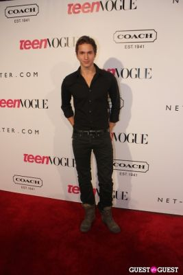 benjamin stone in 9th Annual Teen Vogue 'Young Hollywood' Party Sponsored by Coach (At Paramount Studios New York City Street Back Lot)
