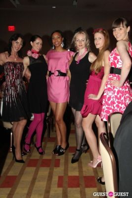 beata in American Cancer Society's Pink & Black Tie Gala