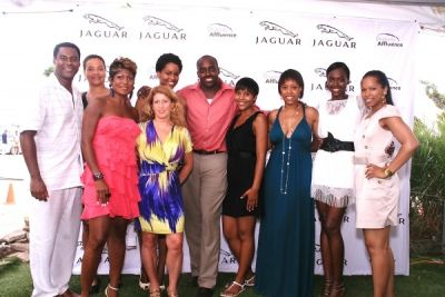 jocelyn taylor in Diversity Affluence Brunch Series Honoring Leaders, Achievers & Pioneers of Diversity Presented by Jaguar