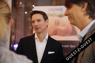 sean macpherson in Caudalie Premier Cru Evening with EyeSwoon
