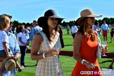 beth krug in Bridgehampton Polo Opening Day