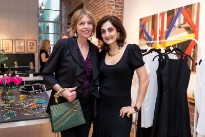 beth schnitzer in Kamila Dmowska Holiday Trunk Show