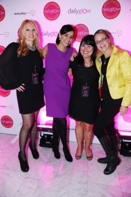 lori flynn in Daily Glow presents Beauty Night Out: Celebrating the Beauty Innovators of 2012