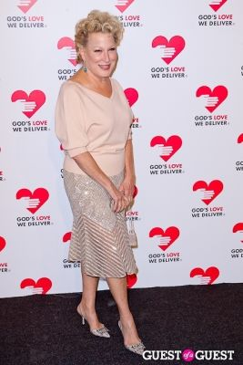bette midler in God's Love We Deliver 2013 Golden Heart Awards