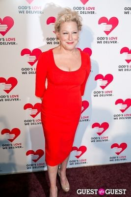 bette midler in God's Love Golden Heart Achievement Awards