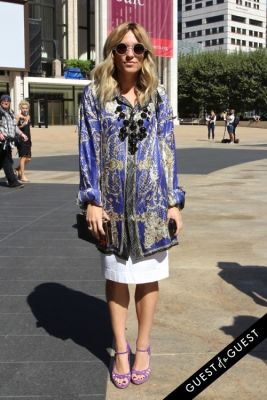 betty gulko in NYFW Style From the Tents: Street Style Day 1