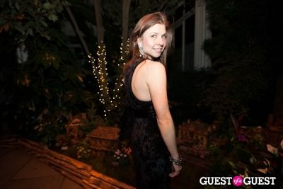 bianca kawecki in New York Botanical Garden Winter Wonderland Ball