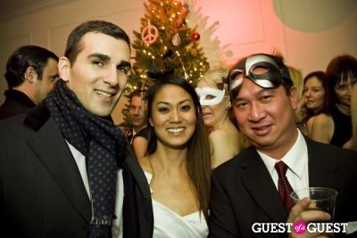 bill chin in Annual Blacktie Christmas Masquerade