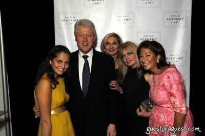 bill clinton in The Tribeca Ball