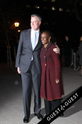 bill de-blasio in Vanity Fair's 2014 Tribeca Film Festival Party Arrivals