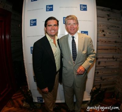 billy gilbane-iii;-cy-vance in Kick-Off Party of the Young Friends of Cy Vance