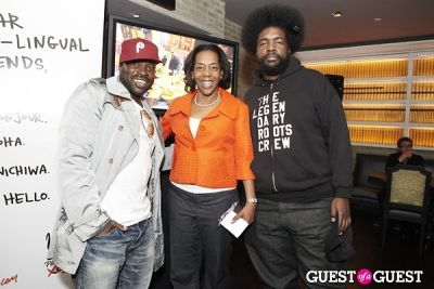 questlove in Philadelphia Tourism and The Roots Coctail Party
