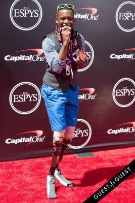 blake leeper in The 2014 ESPYS at the Nokia Theatre L.A. LIVE - Red Carpet