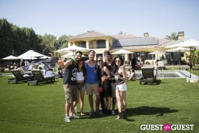 jay yeadon in Coachella: Dolce Vita / J.D. Fisk House Party