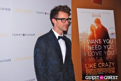 brad goreski in LIKE CRAZY Premiere